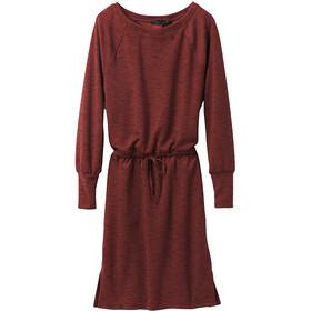 Prana Sunrise Dress Women, rood